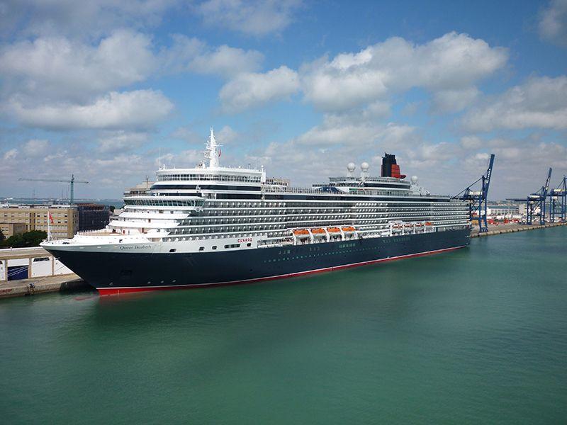 Vase de croaziera Cunard Line Queen Elizabeth