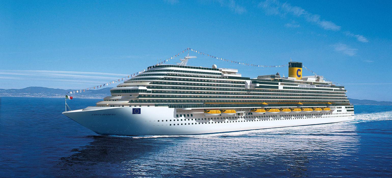 Croaziera 2016 - Mediterana de Vest (Civitavecchia) - Costa Diadema - Costa Cruises - 7 nopti - ZBOR INCLUS