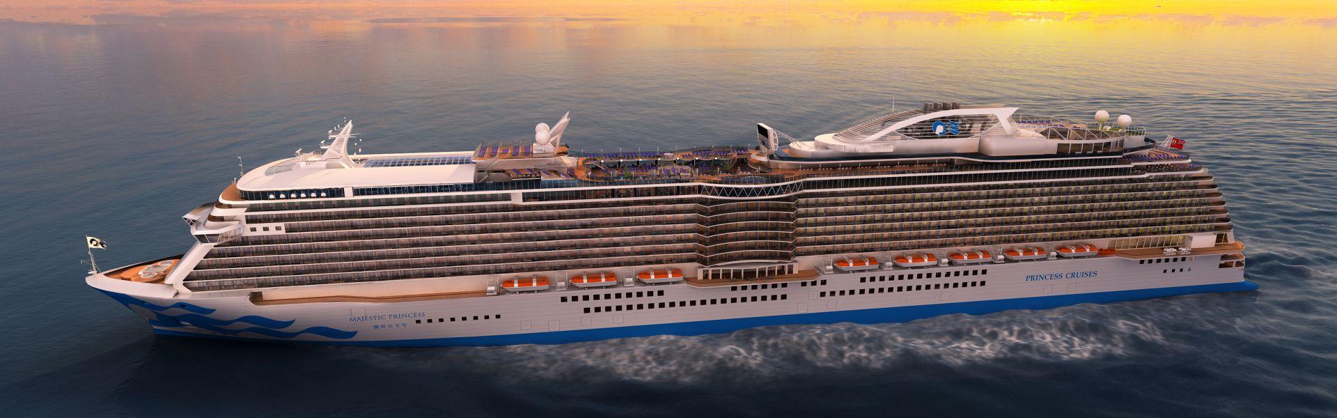 Croaziera 2017 - Mediterana de Est (Civitavecchia) - Princess Cruises - Majestic Princess - 7 nopti