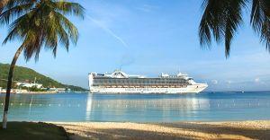 Croaziera 2017 - Transatlantic/Repozitionare (Fort Lauderdale) - Princess Cruises -Caribbean Princess -14 nopti