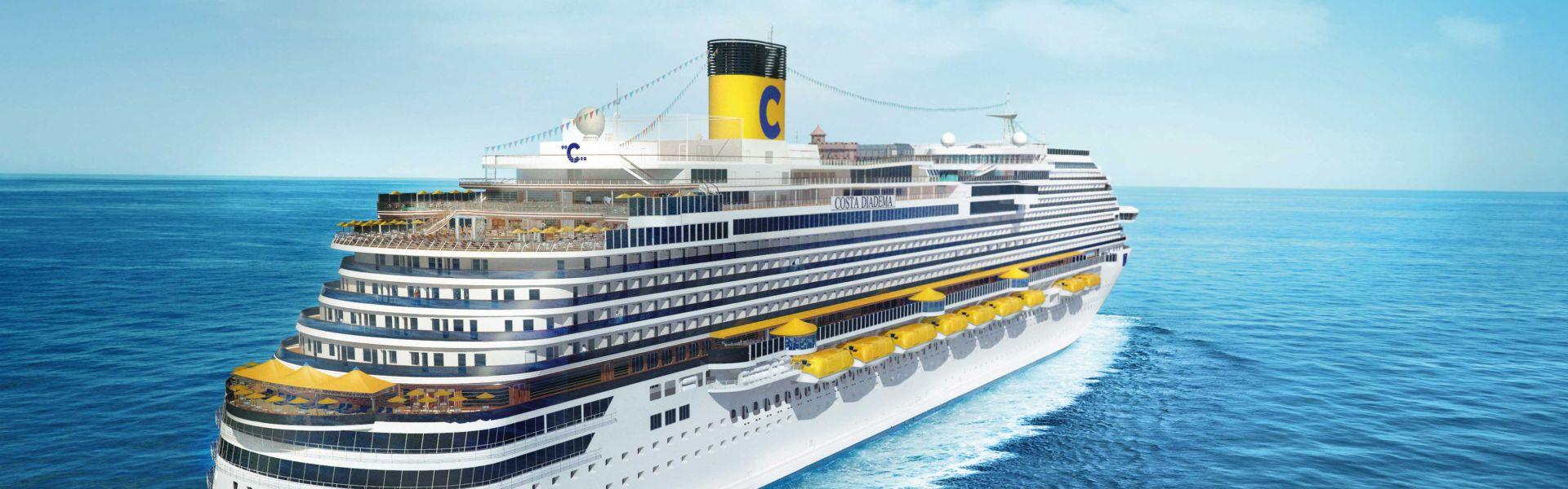Croaziera 2017 - Mediterana de Vest (Civitavecchia) - Costa Cruises - Costa Diadema - 7 nopti