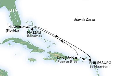 Croaziera 2018 caraibele de est miami msc cruises for Cabina principale delta