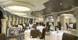 Restaurantul La Palmeraie - dedicat membrilor Yacht Club