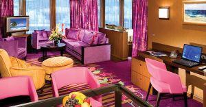 The Haven Deluxe Owner's Suite cu balcon categoria H2