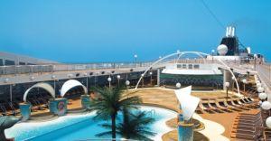 Zona cu piscina - Copacabana