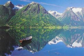 Hellesylt/Geiranger, Norvegia