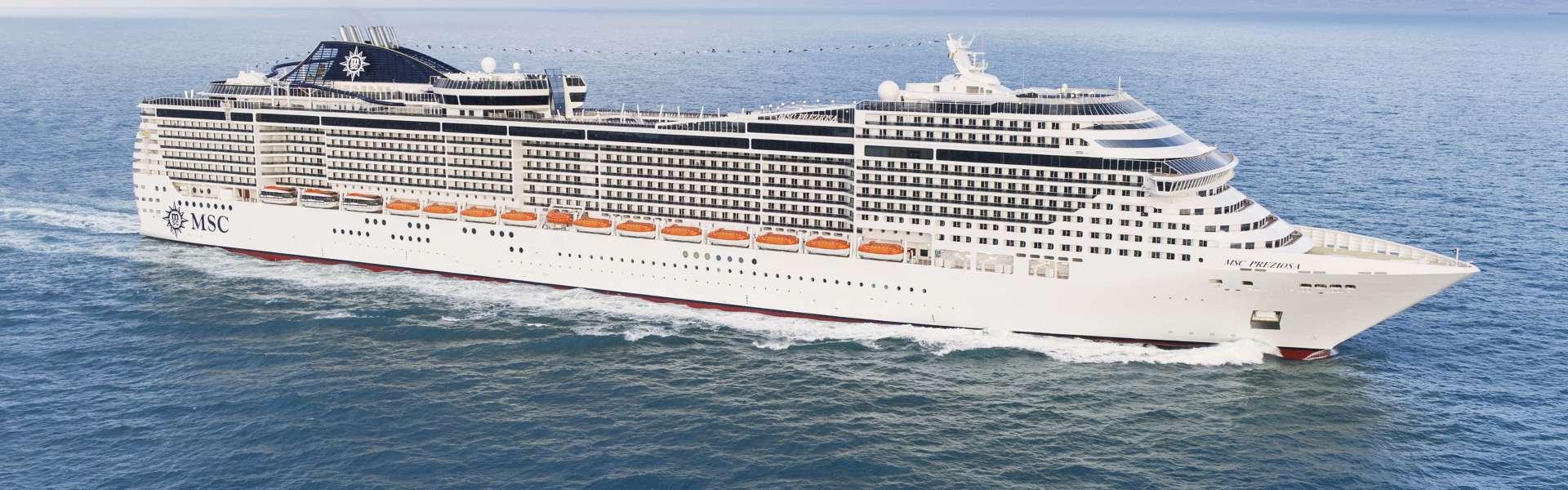 Croaziera de Grup Organizat cu Zbor Inclus 2019 - Coasta de Vest a Europei (Hamburg) - MSC Cruises - MSC Preziosa - 7 nopti