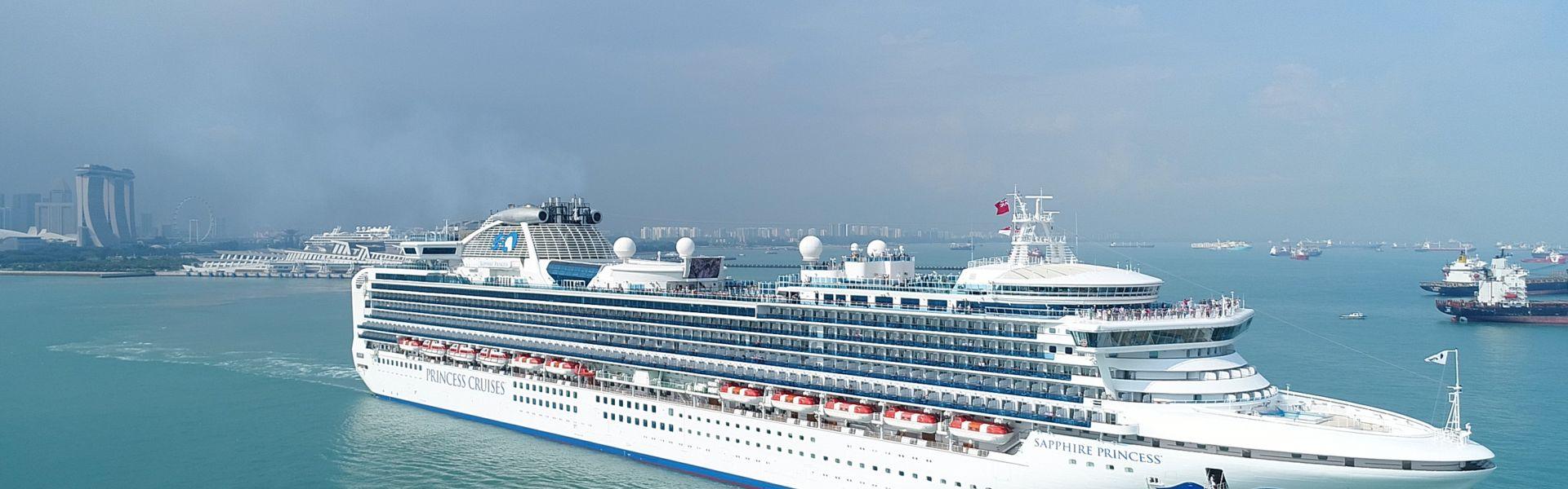 Croaziera 2019 - Repozitionare (Singapore) - Princess Cruises - Sapphire Princess - 27 nopti