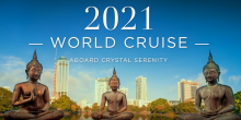 Calatoreste in intreaga lume la bordul vasului Crystal Serenity - Crystal Cruises