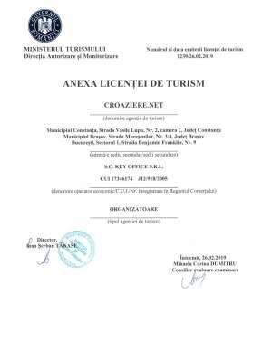 Anexa licenta de turism - Bucuresti, Brasov si Constanta