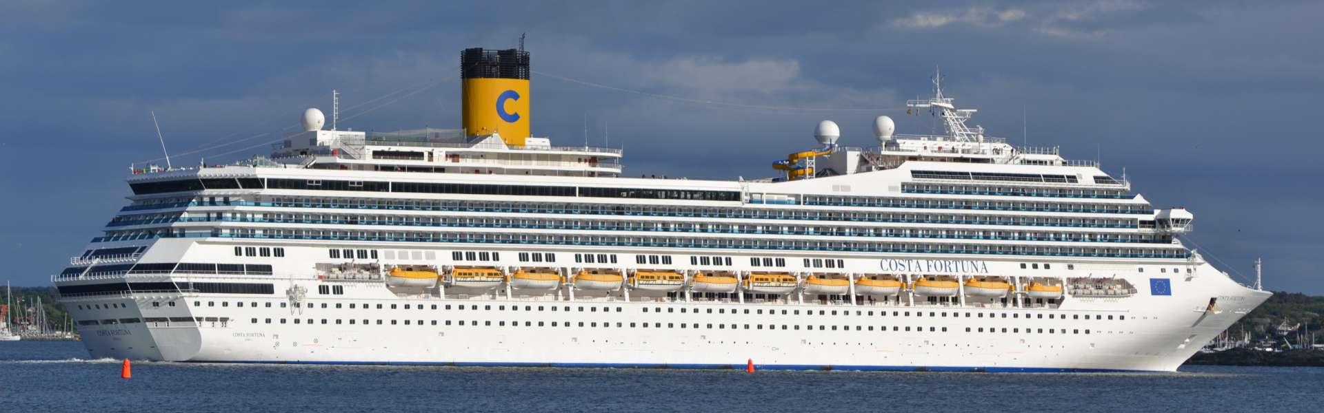Croaziera 2019 - Mediterana de Vest (Roma/ Civitavecchia) - Costa Cruises - Costa Fortuna - 7 nopti