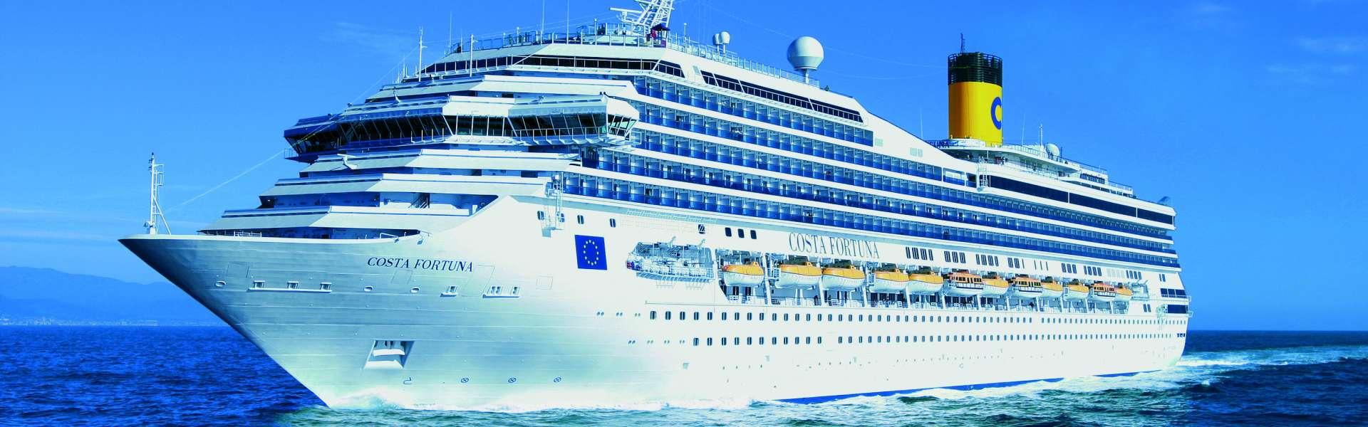 Croaziera 2019 - Mediterana de Vest (Barcelona) - Costa Cruises - Costa Fortuna - 7 nopti