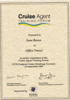 European Cruise Council - Ioan Basea